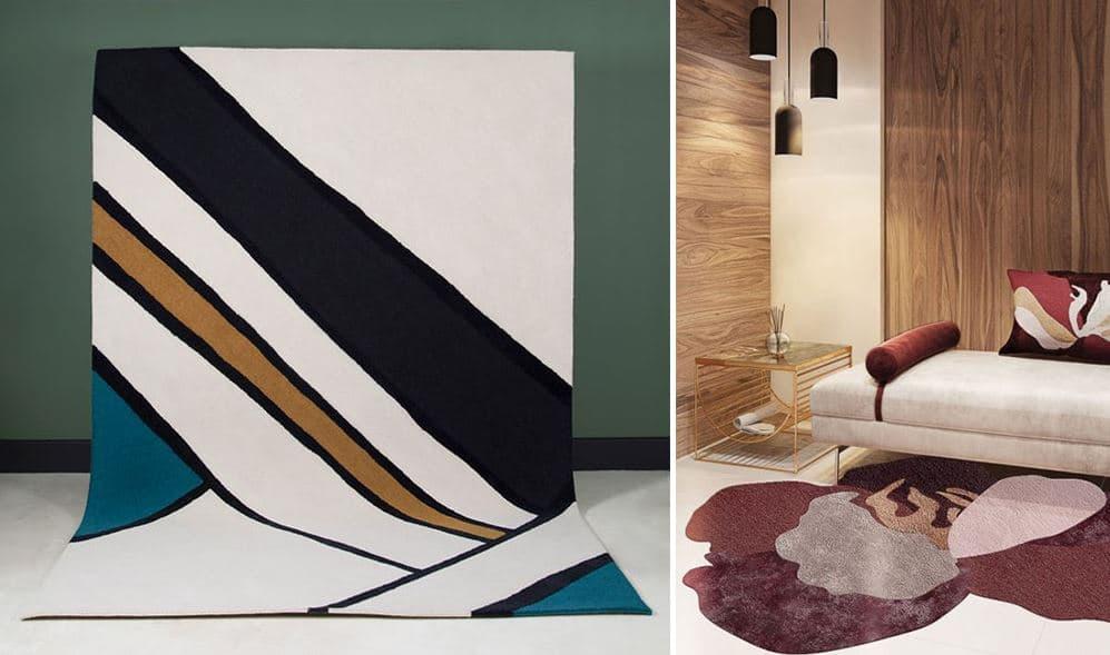 Tapis Moderne Pour Le Salon Les Plus Beaux Modeles Pour Votre Deco