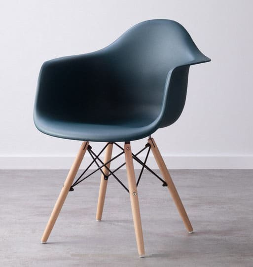 Chaise Bleu Canard