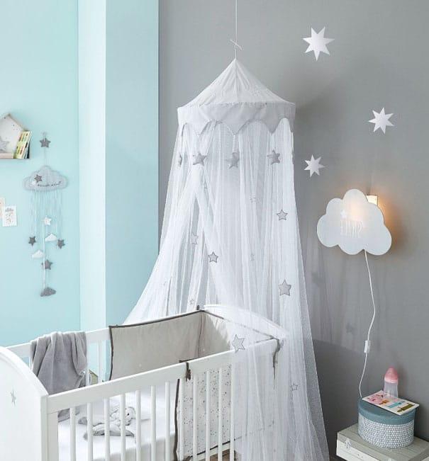 Chambre Bébé étoile Et Nuage