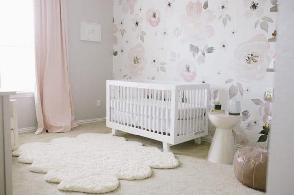 Chambre Bébé Fleurie