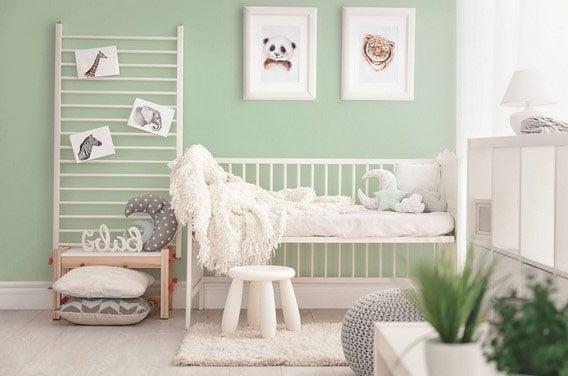 déco chambre bébé vert d'eau  12 idées déco inspirantes