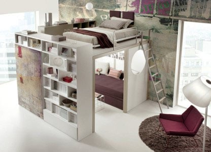 Mezzanine Avec Dressing