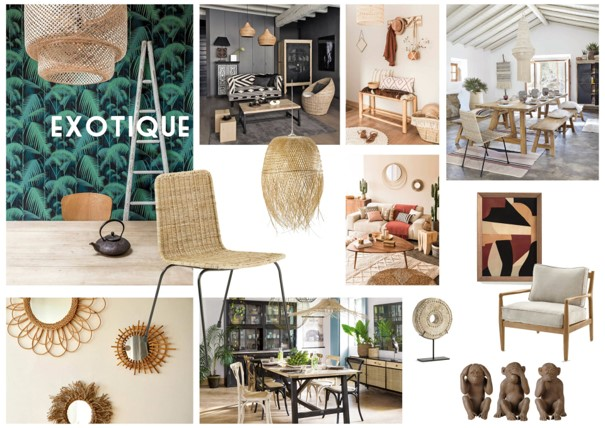 Moodboard Exotique