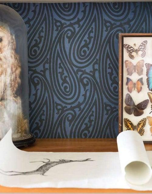 Papier Peint Courbes
