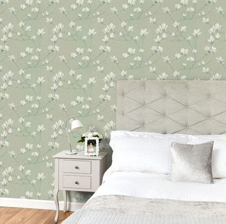 Papier Peint Magnolias
