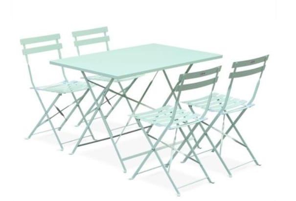 Table De Jardin Pastel