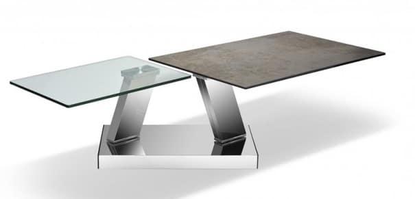 Table Deux Plateaux Modula