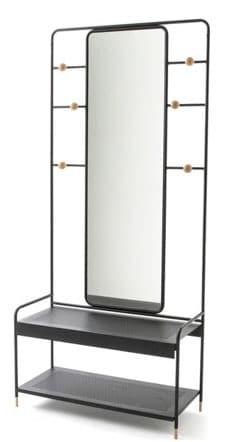 Vestiaire Avec Banc Et Miroir
