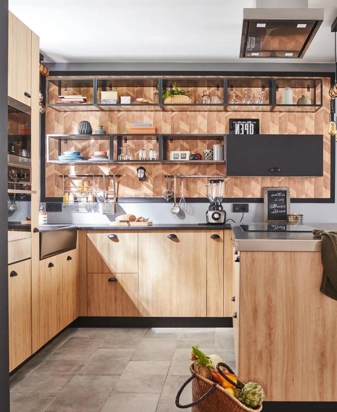 Cuisine Industrielle Leroy Merlin Selection Des Plus Beaux Modeles