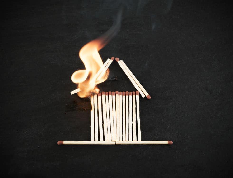 Incendie Feu Maison