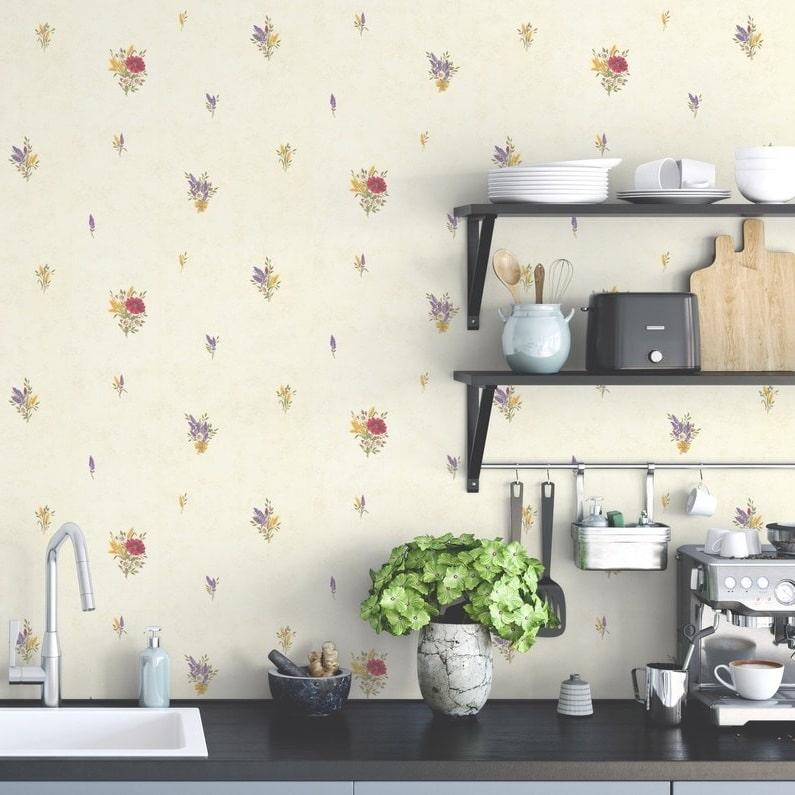 Papier peint leroy merlin pour la cuisine les plus beaux - Modele cuisine equipee leroy merlin ...