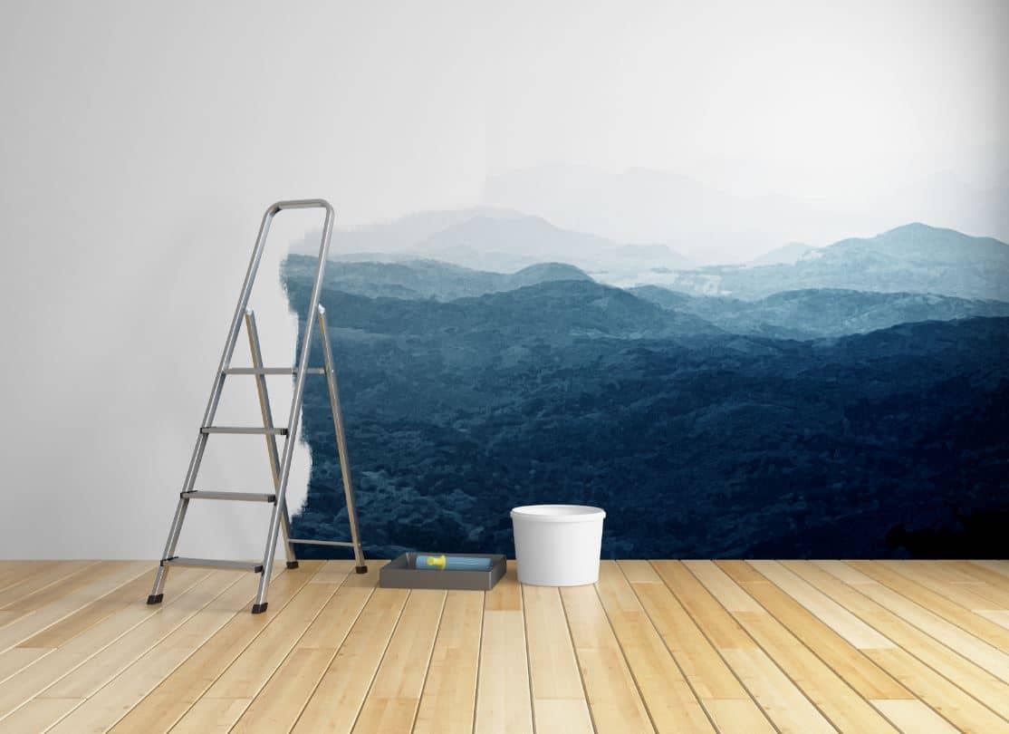 Peindre Du Papier Peint Peut On Repeindre Par Dessus Comment