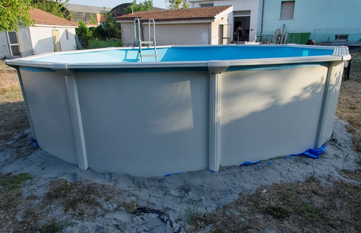 Piscine Hors Sol Installer Sable