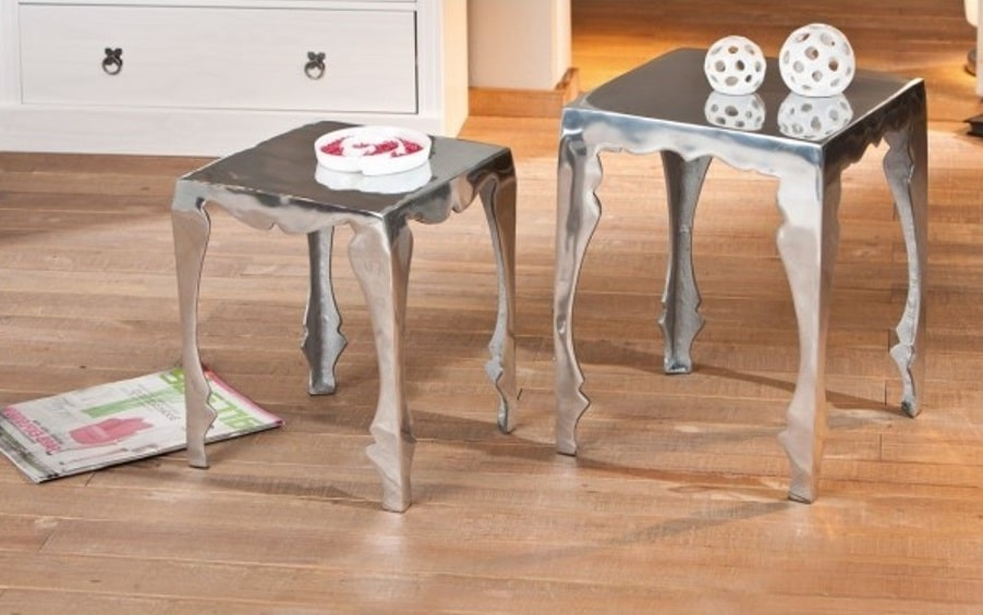 Tables Gigognes Aluminium