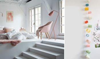 Chambre Pastel Deco