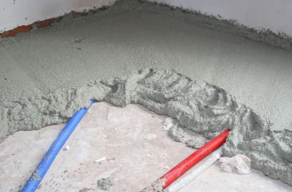 Chape Isolante Ciment Travaux