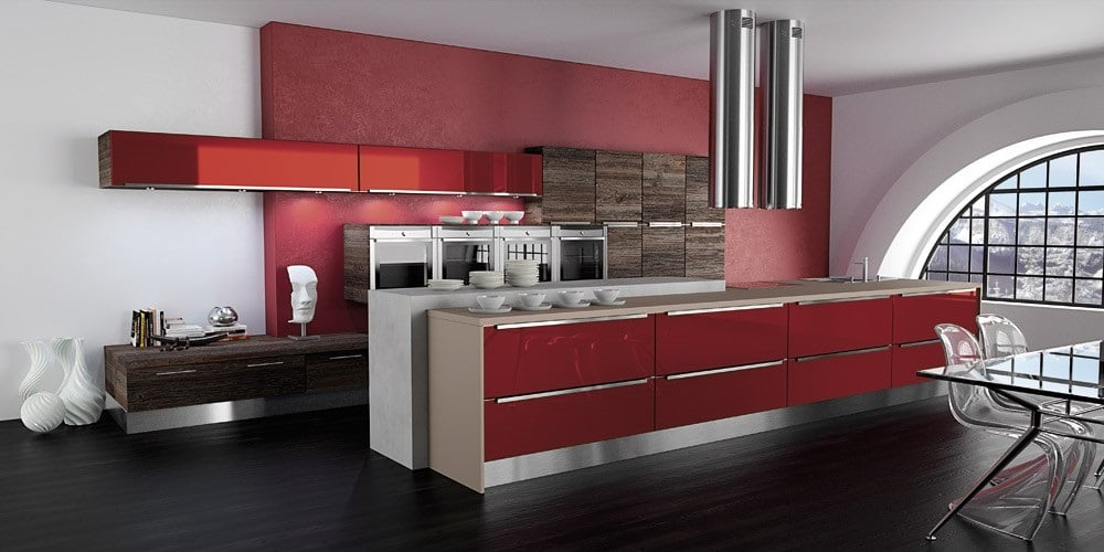 Cuisine Rouge Glossy