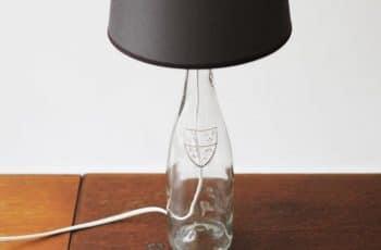 Pied De Lampe Bouteille