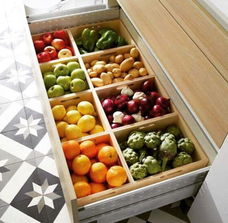 Rangement Fruits
