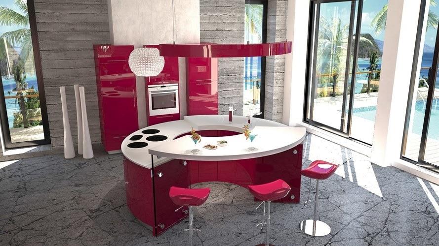 Rouge Framboise Cuisines