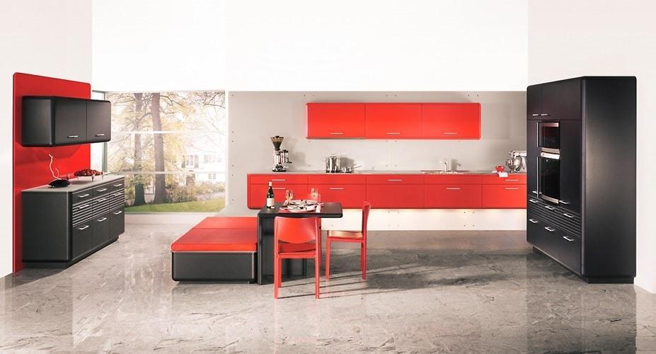 Rouge Orangé Modèle Design Art Interstreamline