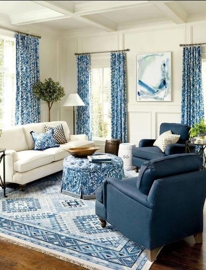 Salon Dominante Bleue