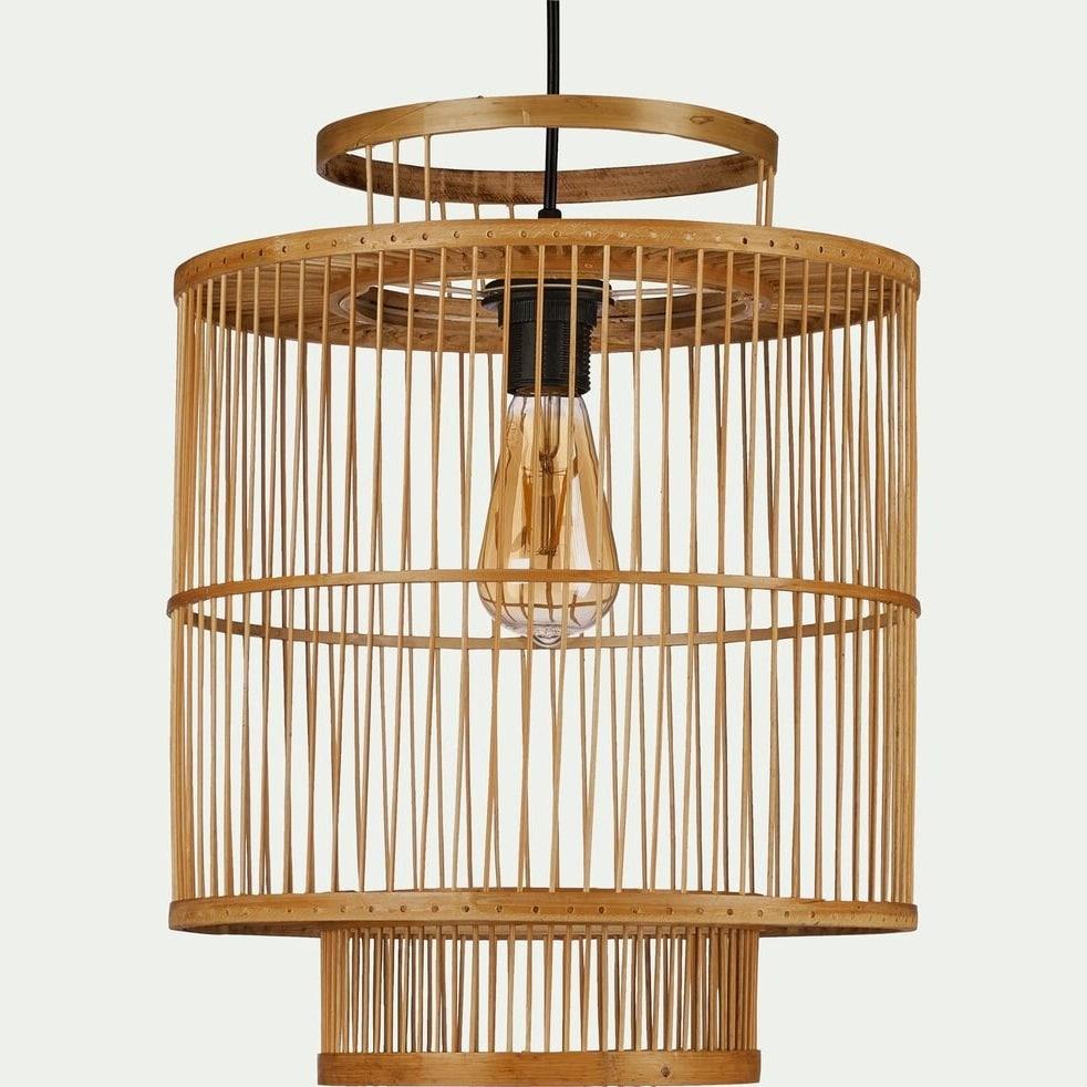 Suspension Graphique Bambou