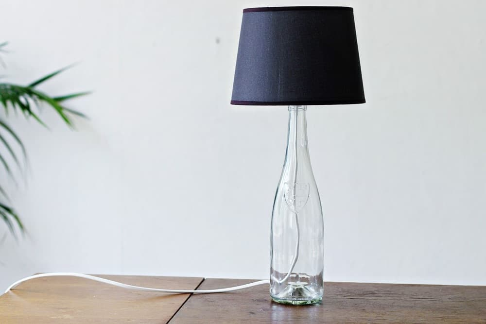 Pied De Lampe En Bouteille Do It Yourself