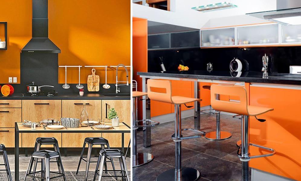 Cuisine Orange 12 Modeles Tendance Pour Votre Interieur