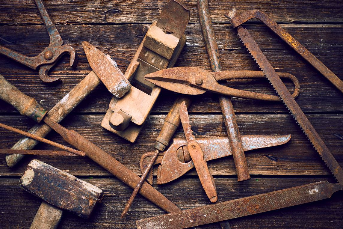 Enlever Rouille Outils