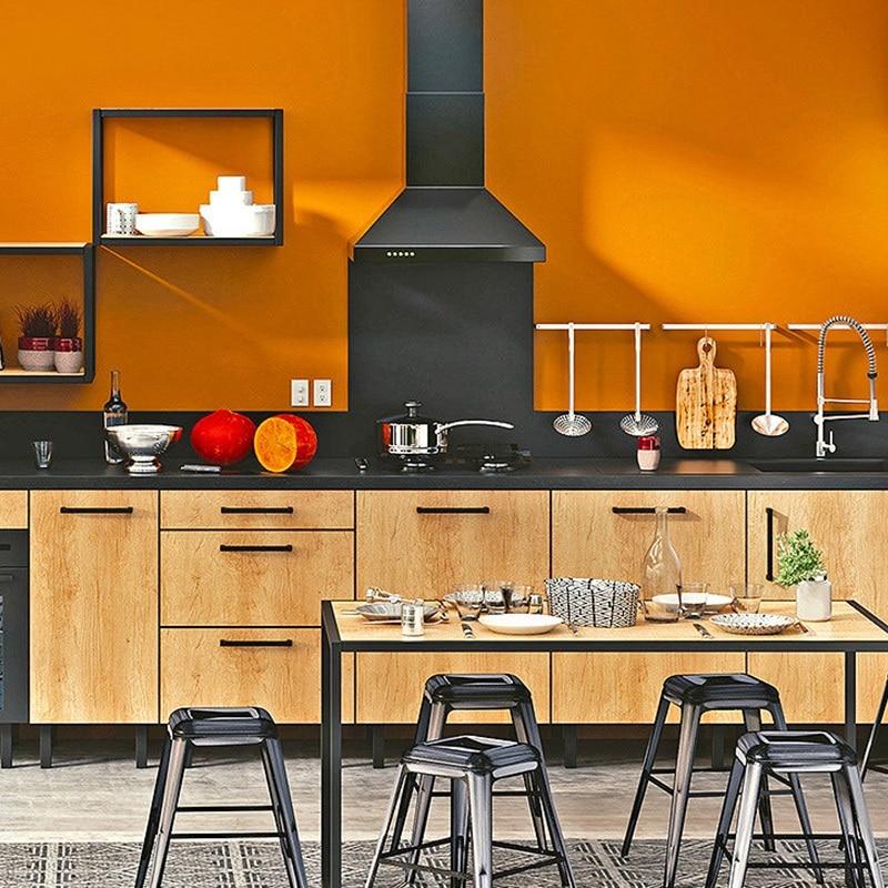 Modèle De Cuisine Orange But De Style Industriel