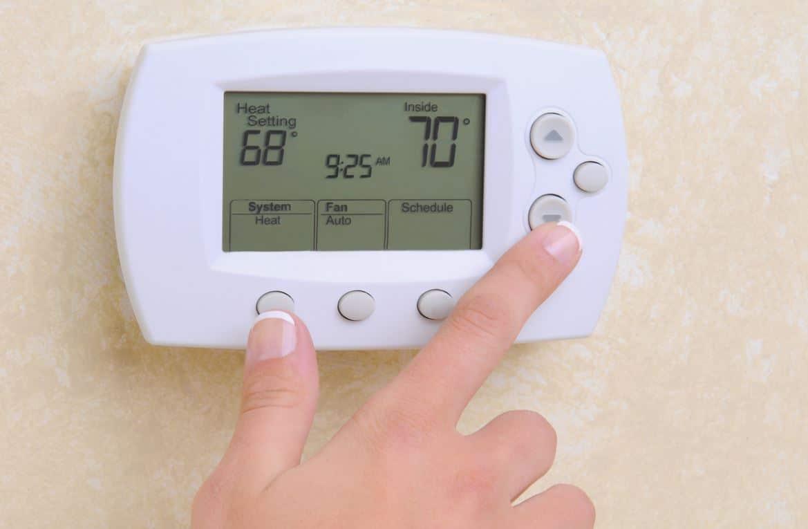 Programmer Thermostat Reglage Temperature