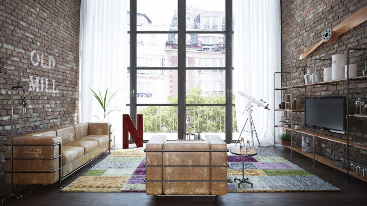 Salon Industriel Deco