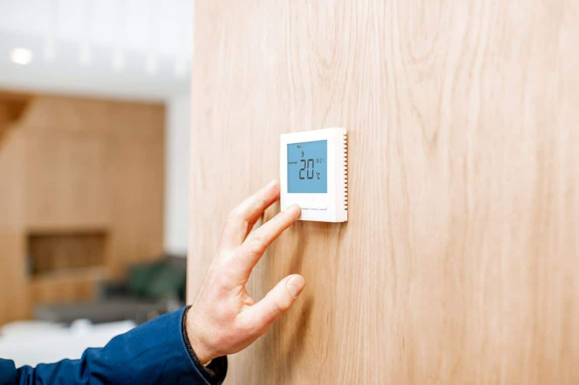 Thermostat Programmable Maison