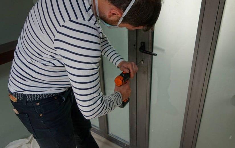 Installation Serrure Securisee