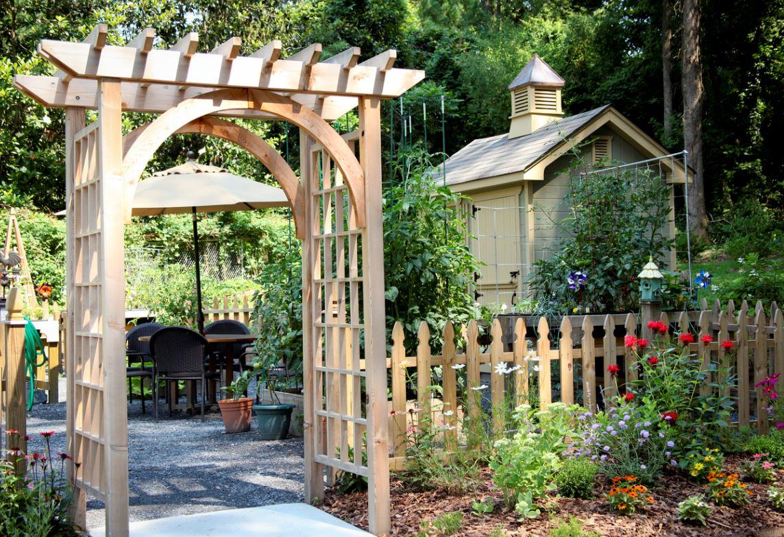 Jardin Structure Arche