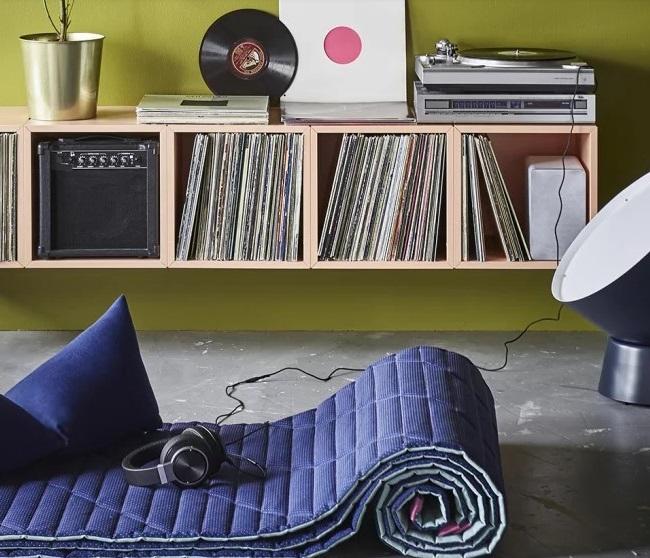Large Rangement Vinyles