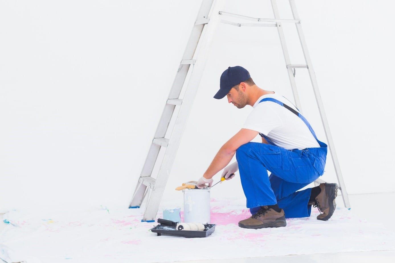 Ouverture Pot De Peinture