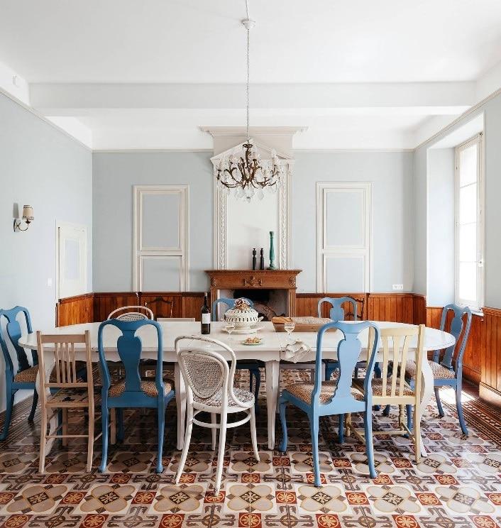 Table Ovale Rétro