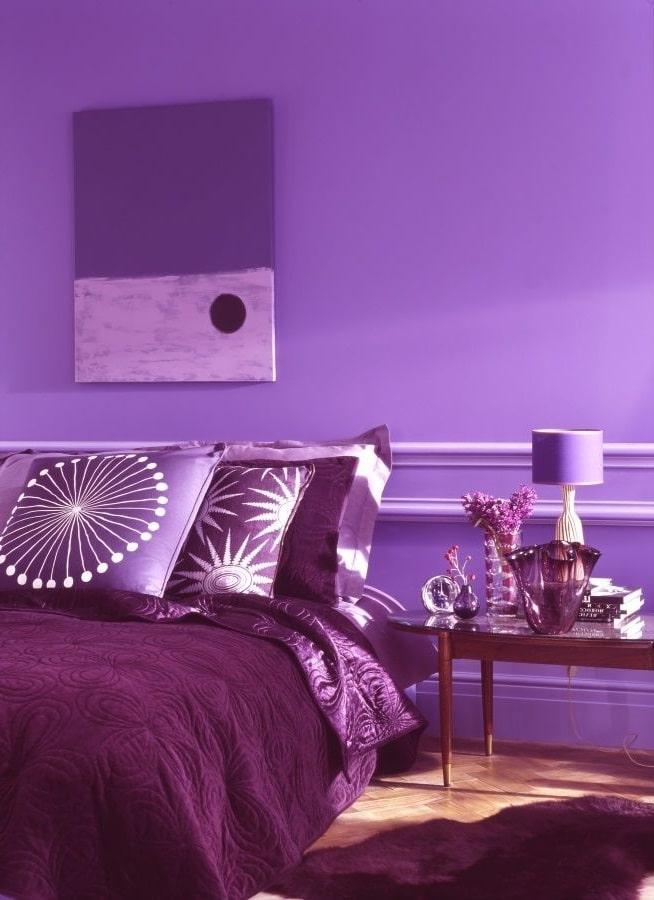 Chambre Camaieu De Violet