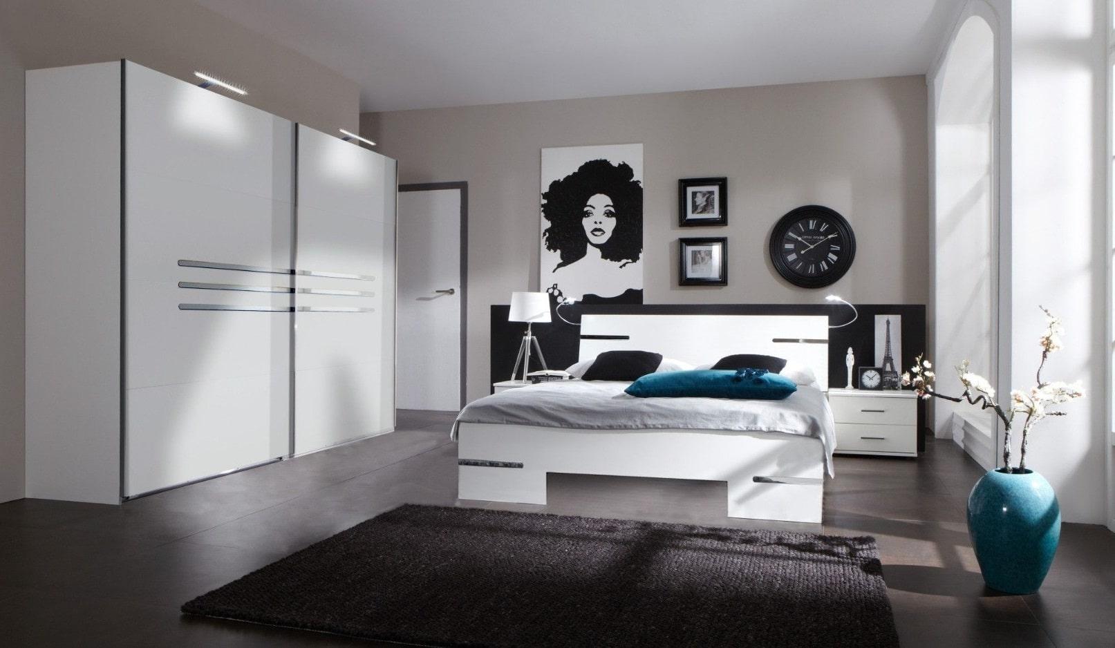 Chambre élégante Total Look Blanc