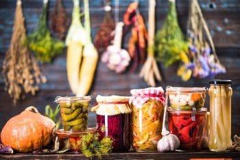 Conserves Legumes Potager