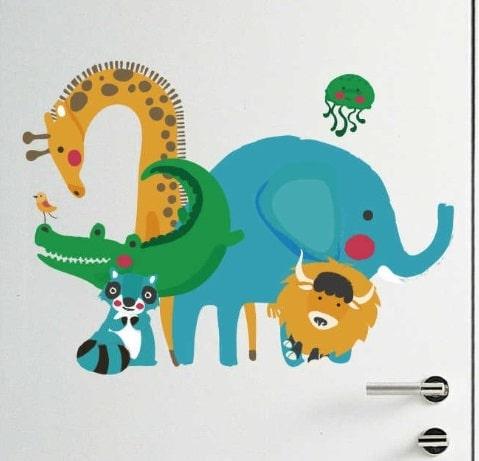 Stickers Animaux Chambre D'enfant