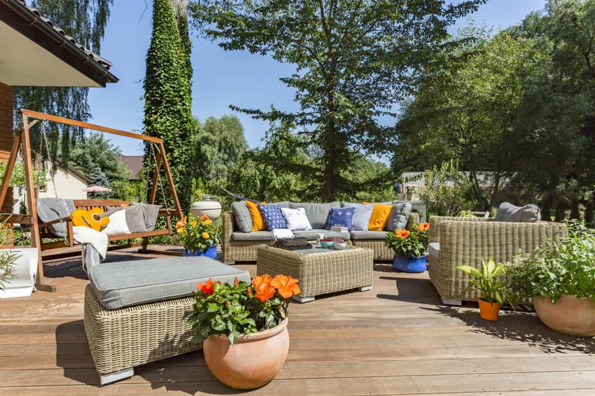 Amenager Jardin Espace Salon