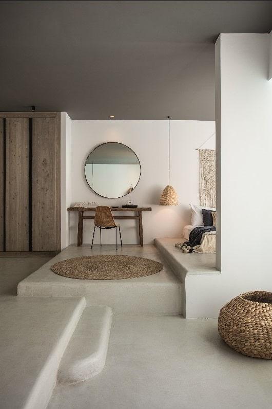 Chambre élégante Et Naturelle