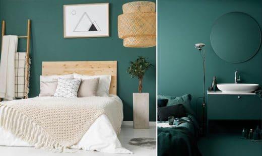 Chambre Vert Sapin