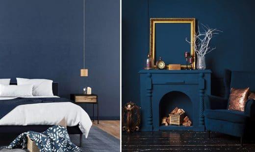 Couleur Bleu Nuit Deco