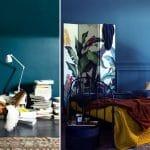 Couleur Bleu Paon Deco