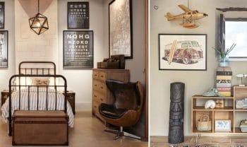 Deco Vintage Chambre Ado