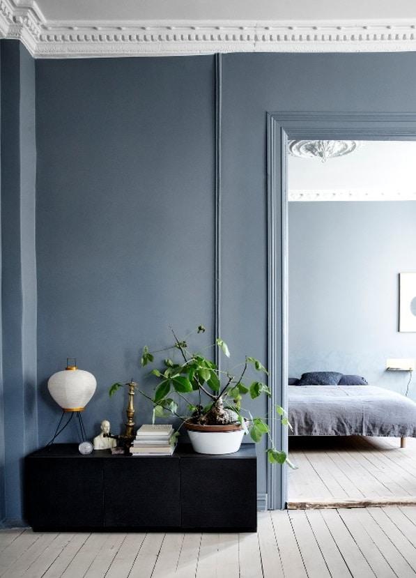 Harmonie Bleu Gris Et Noire